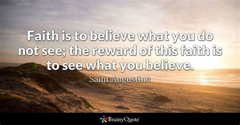 saint augustine faith