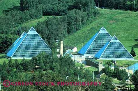 pyramid architecture Muttart Conservatory Edmonton Stock