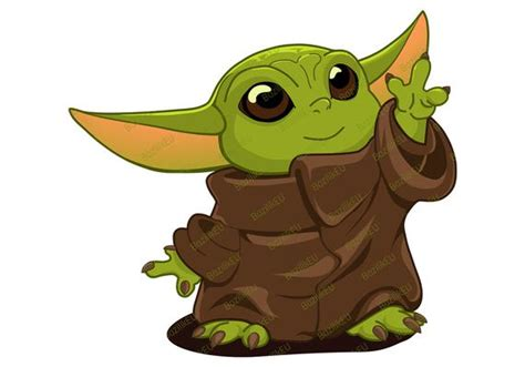Can be opened and used by almost every computer out there the png is saved with a transparent background. Baby Yoda SVG druckbare Bundle Kind mandalorianische Baby ...