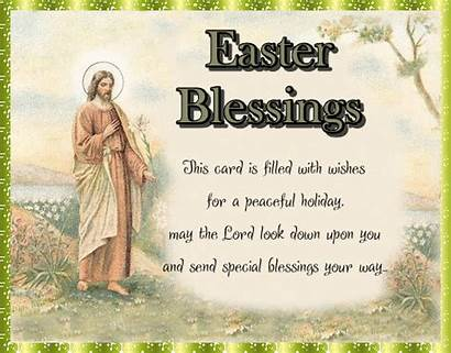 Easter Blessings Religious Cards Card Greeting Greetings