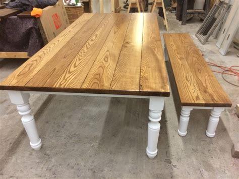 turned leg farmhouse table img 2189 ks woodcraft