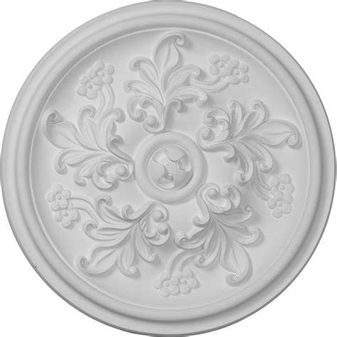 Two Ceiling Medallions Home Depot by Ekena Millwork 14 1 2 In Katheryn Ceiling Medallion