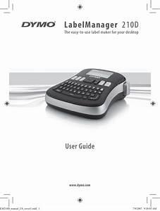 Dymo D1 Label Maker Instructions