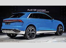 Audi Q8 Concpet foto Corriere dello Sport