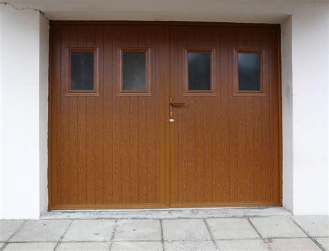 porte de porte de garage battante ouvrant 224 la fran 231 aise afc