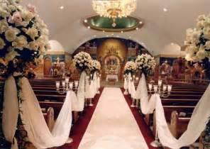 wedding decorating ideas church wedding decorations