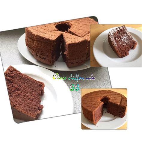 Resep cake coklat ini juga cocok untuk kue ulang tahun sederhana yang praktis. Resep Bolu Coklat Kukus - Chocolate Chiffon Cake - Jatik.com