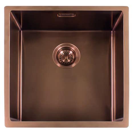 copper kitchen sink uk miami 50x40 copper l integrated sinks reginox the 5797