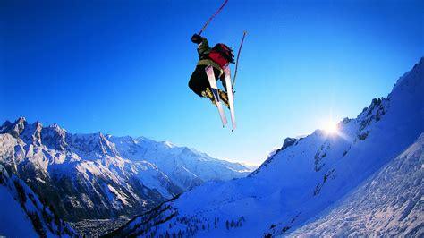 Skiing Background Skiing Hd Desktop Wallpapers For Widescreen Hd