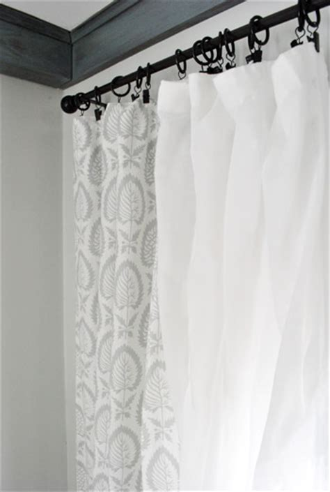Bed Bath And Beyond Curtain Rods Double by Sheer Curtain Rod Attachment Begenn