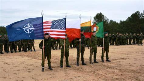 Lietuvā sākas militārās mācības