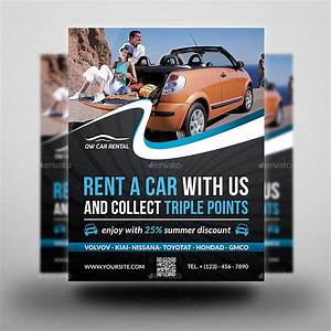Rent A Car Flyer Template By Owpictures