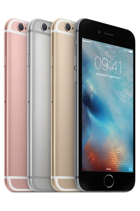 iphone apple iphone 6s 128 go gris sideral iphone 6s