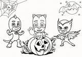 Colorare Halloween Disegni Gemerkt Pigiamini sketch template
