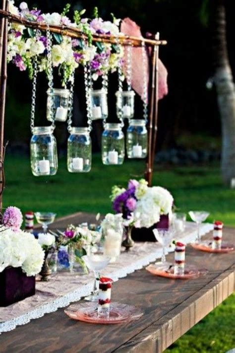 outdoor bridal showers ideas  pinterest