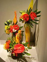 Flower Show Floral Arrangements