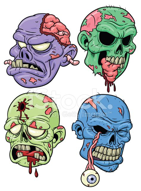 cartoon zombies stock vector freeimagescom