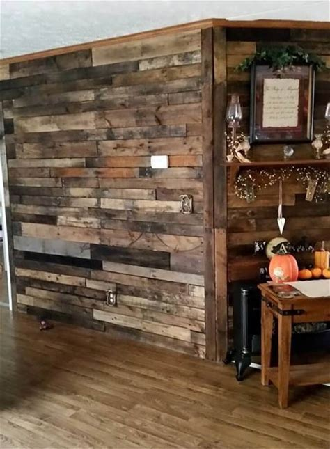 country chic bathroom pallet wood wall pallet room divider