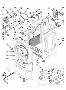 Front Load Washer  Whirlpool Front Load Washer Parts Diagram