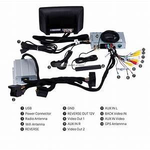 8 Inch Android 7 1 1 Gps Navigation System For 2014