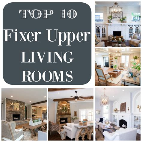 Living Room Decor Fixer by Top 10 Fixer Living Rooms Restoration Redoux