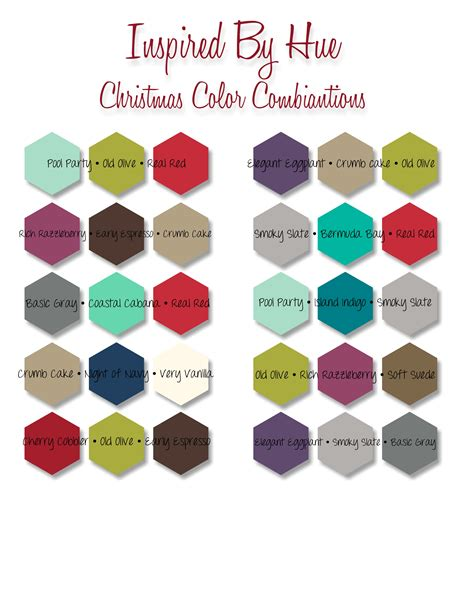 my chart stampin up snowflake christmas inspired by hue