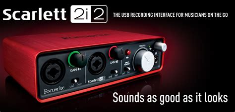 Focusrite 2i2 Best Buy Top 10 Best Audio Interfaces In Early 2015