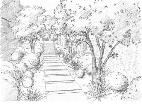 landscape drawings pencil art
