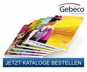 Gratis Kataloge Bestellen : gebeco l nder erleben kostenlose wunschkataloge bestellen ~ Eleganceandgraceweddings.com Haus und Dekorationen