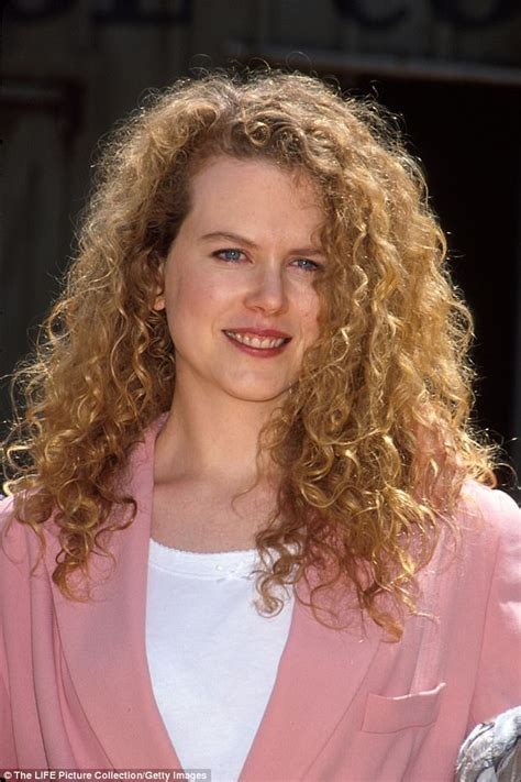 Nicole Kidman Says She Tortured Her Curls To Death