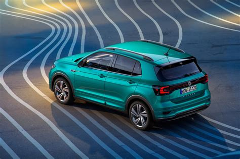 Volkswagen Car : New Volkswagen T-cross Unveiled
