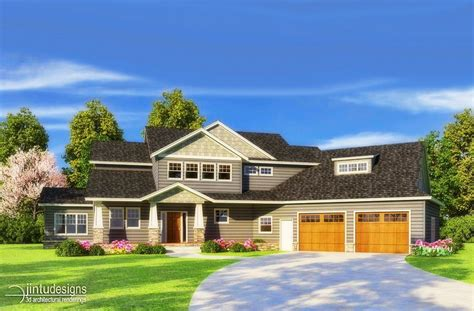 Traditional American House Plans  Cottage House Plans
