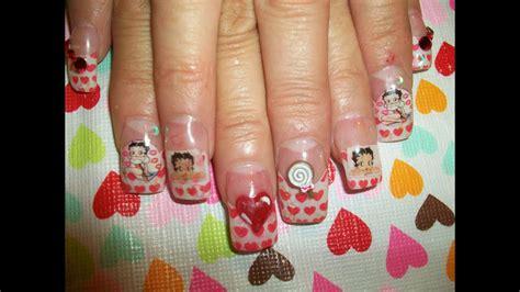 14 diseños de uñas para recibir el año nuevo. Set de uñas para el 14 de febrero y todo el mes :D - YouTube