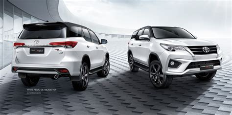 toyota thailand 2016 toyota fortuner trd sportivo launched in thailand
