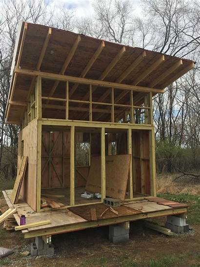Cabin Plans Tiny Construction 2x4 Elevated Virginia