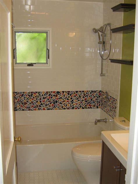 bathroom mosaic ideas fancy bathroom tile border application for different usage