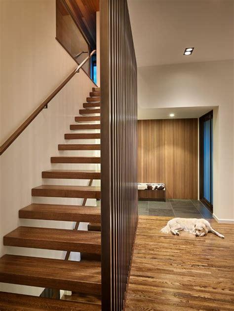 wood slat partition houzz