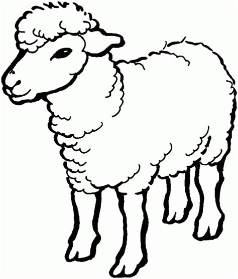 Free Coloring Pages Of Goat Face Mask