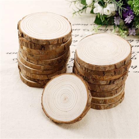 Tree Trunk Craft Rustic Wedding Centerpieces Table Decor