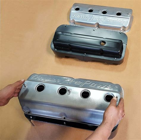 Chevy Small Block Valve Cover Converter Fit