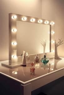 hochglanz wei 223 makeup theatre verband zimmer spiegel k313led ebay