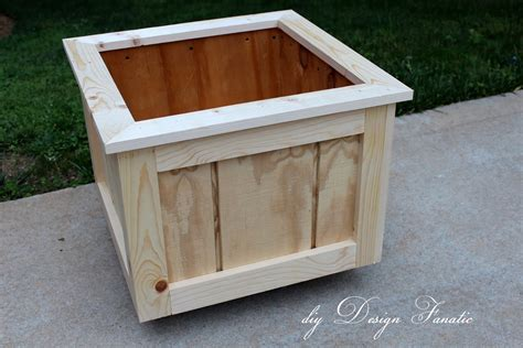 build wood planters  woodworking