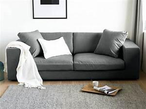 Gros Coussin Canapé : gros coussin canap womanofsteelgallery ~ Teatrodelosmanantiales.com Idées de Décoration