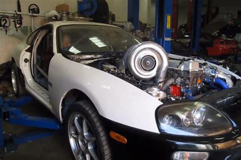 toyota supra mit allradantrieb und monster turbo