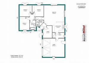 Plan Maison U : maison 5 chambres plain pied ny84 jornalagora ~ Dallasstarsshop.com Idées de Décoration