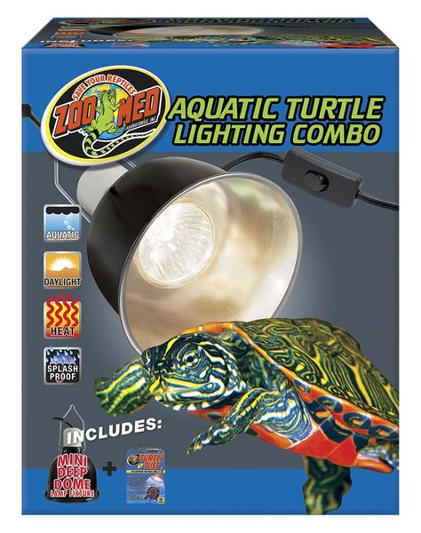 aquatic turtle basking light aquatic turtle lighting combo zoo med laboratories inc