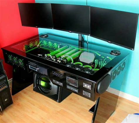 Gaming Computer Desk Pic The Best One Goodworksfurniture