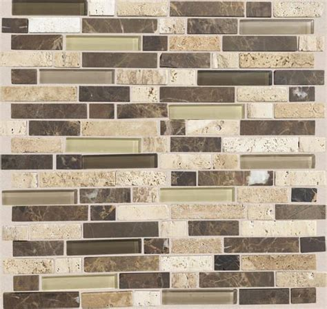 mohawk stone radiance stone and glass mosaic wall tile 5 8