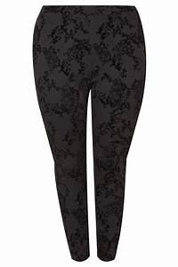 I Watch Kaufen : legging mit samtaufdruck gro e gr en 44 64 ~ Eleganceandgraceweddings.com Haus und Dekorationen