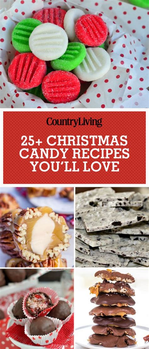 45 easy christmas candy recipes ideas for homemade - Easy Christmas Candy Recipes For Gifts